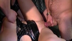 Naughty Pierced German Milf Deep Double Anal Fucked Thumb