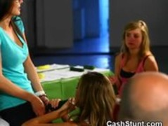 Amateur Girls Participate In Money Talks Handjob Stunt Thumb