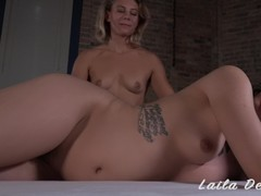 Lesbian squirting nuru massage with Bianca Stone Thumb