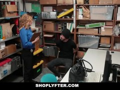 Shoplyfter - Hot Busty Cop Fucks Young Delinquent Thumb