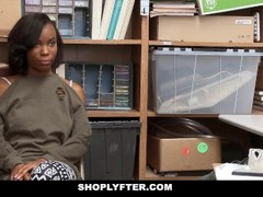 ShopLyfter - Cute Ebony Teen Recorded Store Fuck Thumb
