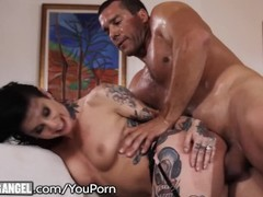 Big Cock Pounds Joanna Angel to Jizz Explosion on Tattoos! Thumb
