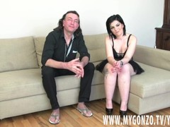 German Dieter Von Stein Reveals To Brunette Anastacia That He Does HC Porn Thumb
