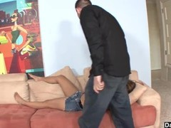 Brat Stepsister Blackmailed By Stepbro Thumb