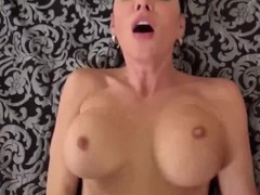 Spizoo - Sasha Summers sucking 2 big cocks, glory hole & big boobs Thumb