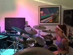 Felicity Feline Drums and Jams with Friends Behind the scenes Thumb
