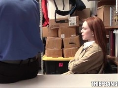 British Redhead Teen Thief Ella Hughes Caught & Punished Thumb