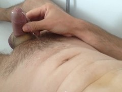 Self CBT (cock & ball training): ball stretching, peeing, urethral sounding, milking, ruined orgasms Thumb
