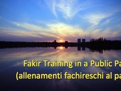 Fakir Training in a Public Park (Stomach Demolition) Thumb