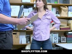 ShopLyfter - Thief Sucks Security Guards Cock Thumb