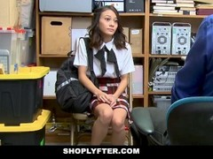 ShopLyfter - Ramming A Hot Asian Teen Thief Thumb