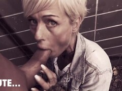 Hot skinny MILF Vicky Hundt FUCKED OUTDOORS! Berlin Banger Thumb