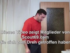 German Mature Seduce Young Worker to Fuck for pay Bill Thumb
